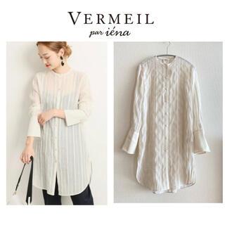 IENA - 【2019SS】VERMEIL par iena ★コットンシルクシャツ