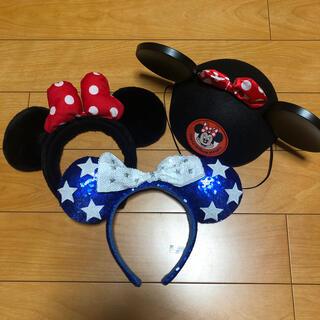 ディズニー(Disney)のミニーカチューシャ コスチューム ディズニー Disney(カチューシャ)