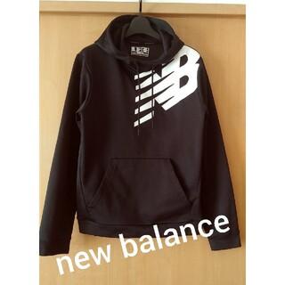 ニューバランス(New Balance)のnew balance★裏起毛ブラックパーカー(パーカー)