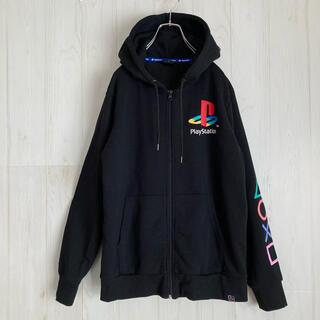 プレイステーション(PlayStation)のプレイステーション PLAY STATION ジップパーカー  プレステ(パーカー)