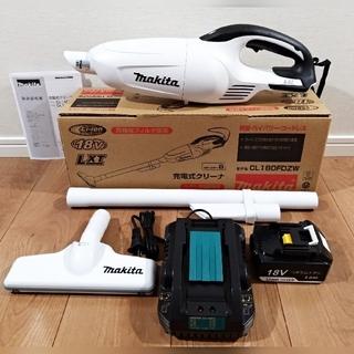 新品・未使用 マキタ 18V充電式クリーナー 充電器セット 掃除機(工具/メンテナンス)