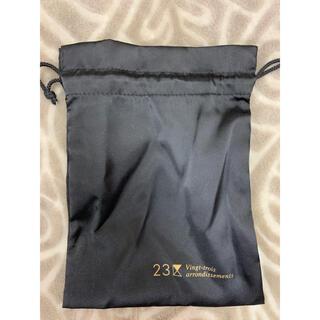 ニジュウサンク(23区)の新品未使用 23区 巾着 ショッパー ショップ袋(ショップ袋)