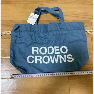 ロデオクラウンズ(RODEO CROWNS)のRODEO CROWNS  ロデオクラウンズ 巾着バッグ(トートバッグ)