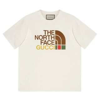 THE NORTH FACE - GUCCI × THE NORTH FACE T-SHIRT Mサイズ