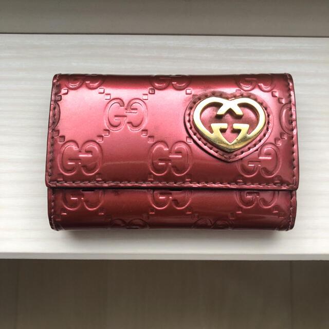 Gucci(グッチ)のMiyuさま専用 GUCCI シャイニーグッチシマ キーケース レディースのファッション小物(キーケース)の商品写真