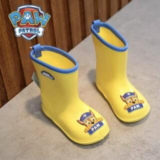 パウパトロール チェイス 長靴 黄色 16cm