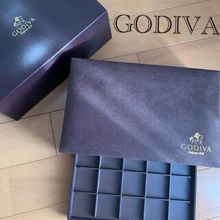GODIVA アクセサリーケース 空箱(ケース/ボックス)