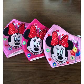 ディズニー(Disney)の新品。未使用。ミニーマスクカバー 3枚セット(日用品/生活雑貨)