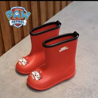 パウパトロール マーシャル 長靴 赤色 16cm(長靴/レインシューズ)