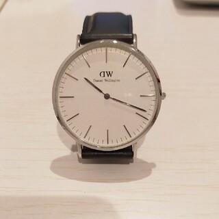 ダニエルウェリントン(Daniel Wellington)のDaniel Wellington 腕時計 シルバー×ブラック 40mm(腕時計(アナログ))