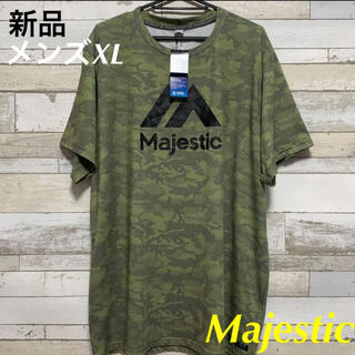 マジェスティック(Majestic)のMajesticマジェスティック 野球ベースボール 半袖Tシャツ メンズXL新品(ウェア)