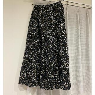 ダブルクローゼット(w closet)の期間限定お値下げ【w closet】花柄スカート(ロングスカート)