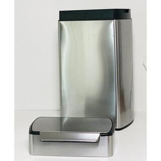 (美品)simplehumanレクタンギュラータッチバーダストボックス 40L(ごみ箱)