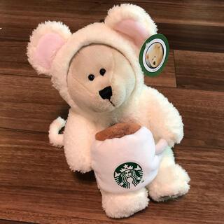 スターバックスコーヒー(Starbucks Coffee)のスタバ ニューイヤーベアリスタ ネズミ(ぬいぐるみ)