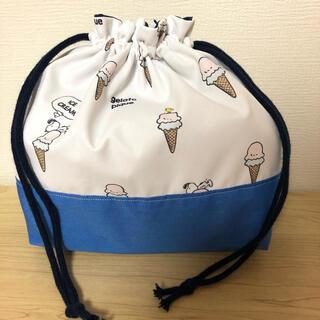 gelato pique - ジェラートピケジェラートピケオムツポーチ  巾着 おむつポーチ