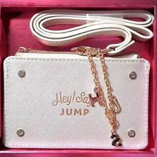 ヘイセイジャンプ(Hey! Say! JUMP)のHey!Say!JUMP10周年記念ファンクラブ限定パスケース!新品(男性アイドル)