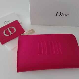 Dior - Dior⭐️ノベルティポーチ&ミラー