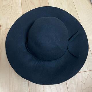 アズールバイマウジー(AZUL by moussy)のAZUL 女優帽(ハット)