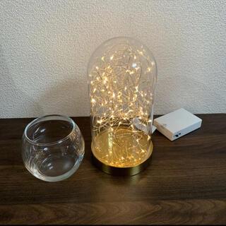 イケア(IKEA)のガラスドームセット(ウェルカムボード)