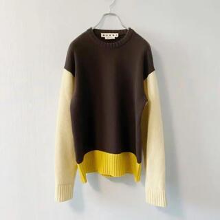 マルニ(Marni)のMARNI クレイジーパターン クルーネック ニット セーター(ニット/セーター)