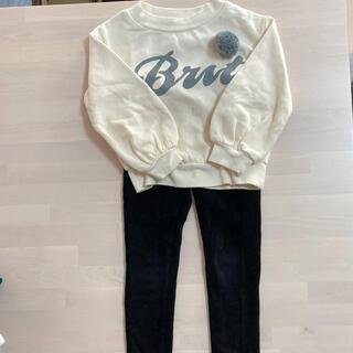 ジーユー(GU)の子供服 ジーユー 100cm〜 女の子 セット売り(パンツ/スパッツ)