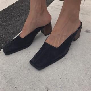 アメリヴィンテージ(Ameri VINTAGE)のアメリヴィンテージ 靴(ミュール)