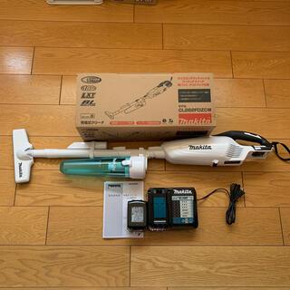 マキタ(Makita)のマキタ 充電式クリーナー 急速充電器・純正バッテリー付きフルセット(掃除機)