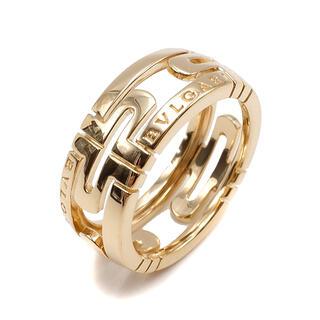 ブルガリ(BVLGARI)のブルガリ  リング 指輪  オープンパレンテシリング   ゴールド(リング(指輪))