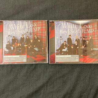 ヘイセイジャンプ(Hey! Say! JUMP)のWhite Love Hey!Say!JUMP 初回限定盤1.2セット(男性アイドル)