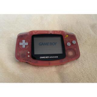 ゲームボーイアドバンス(ゲームボーイアドバンス)のゲームボーイアドバンス ピンク(携帯用ゲーム機本体)
