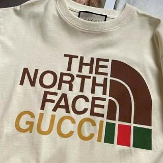 Gucci - 最終値下げ!グッチ&ザノースフェイス  パーカー  男女兼用
