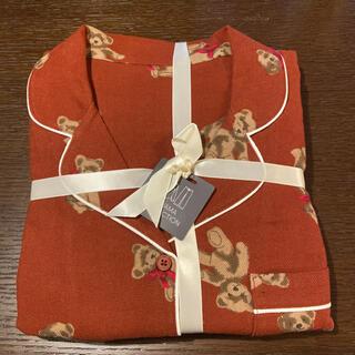 GU - 完売品 ジーユー フランネルパジャマ パジャマ ルームウェア テディーベア L