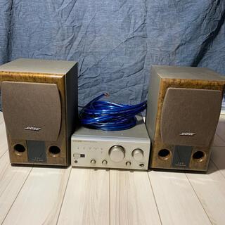 ONKYO  A909 &BOSE120 &JBL JSC1500 1.5mx2(アンプ)