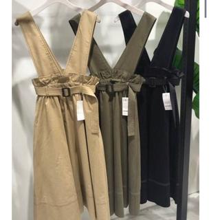 アンレリッシュ(UNRELISH)の2WAYジャンパースカート UNRELISH(ロングスカート)
