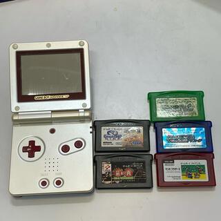 任天堂 - ゲームボーイアドバンスsp ファミコンカラー  ソフト付き