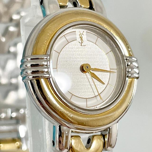 Saint Laurent(サンローラン)の175 イヴサンローラン時計 レディース腕時計 新品電池 人気Yベルト レディースのファッション小物(腕時計)の商品写真