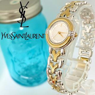 Saint Laurent - 175 イヴサンローラン時計 レディース腕時計 新品電池 人気Yベルト