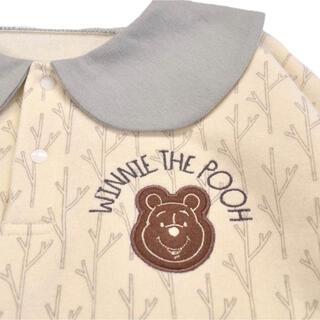 ディズニー(Disney)のベビーザらス限定 ディズニー長袖ゆるロンパース くまのプーさん (ロンパース)