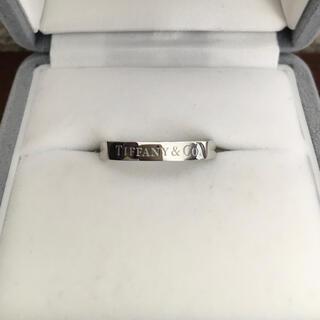 ティファニー(Tiffany & Co.)のティファニー フラット バンドリング Pt950 3.0mm 5.4g(リング(指輪))