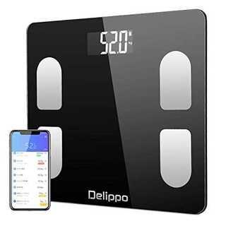 体重計 ダイエット おしゃれ Bluetooth スマホ連動 スマホ シンプル (体重計/体脂肪計)