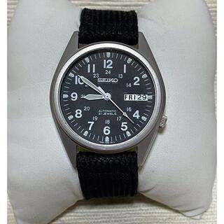 セイコー(SEIKO)のSEIKO 7S26-00D0 自動巻腕時計 ミリタリー(腕時計(アナログ))