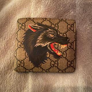 Gucci - Gucci 二つ折り財布 ウルフ