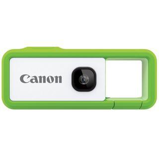 キヤノン(Canon)の新品  未使用  iNSPiC REC FV-100-GN [グリーン] (ビデオカメラ)