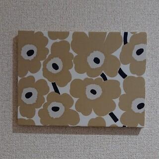 marimekko - ファブリックパネル マリメッコベージュ花柄