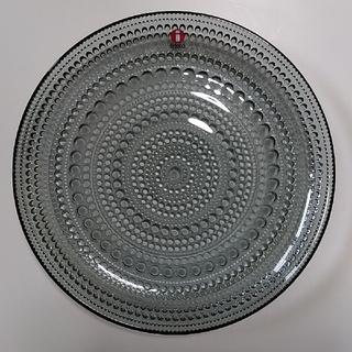 イッタラ(iittala)の【専用】iittala イッタラ カステヘルミプレート 17cm グレー(食器)