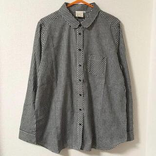 しまむら - 未使用☆ギンガムチェックシャツ