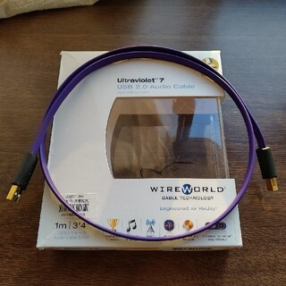 WIREWORLD Ultraviolet7 USB2.0オーディオケーブル