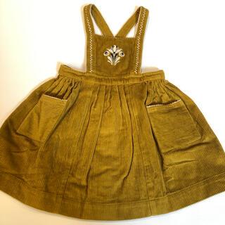 Caramel baby&child  - 《タグ付、新品・未使用》CARAMEL エプロン ワンピース