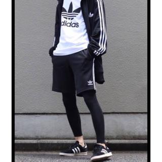 アディダス(adidas)のアディダス 3 STRIPES SHORTS ショートパンツ ジャージ 大きい(ショートパンツ)