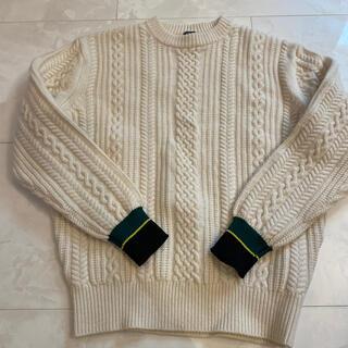 ジェイプレス(J.PRESS)のJ.プレス J.Press ニット セーター 白メンズ(ニット/セーター)